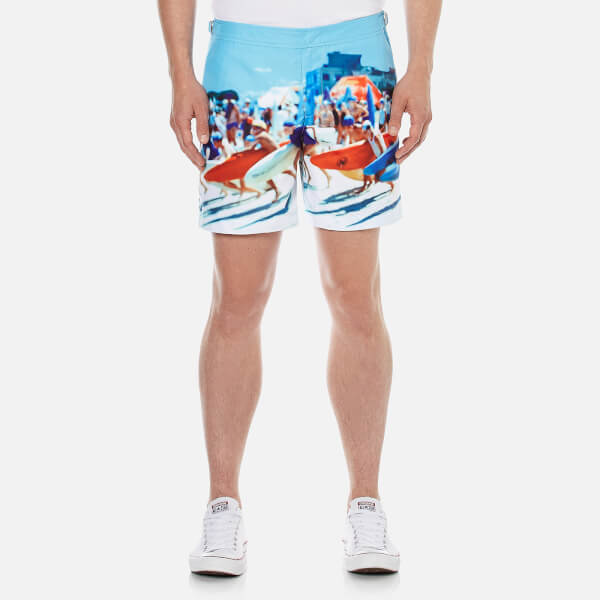 Orlebar Brown Men's Bulldog Hulton Getty Swim Shorts - Happy Sandboys