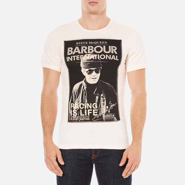 Barbour X Steve McQueen Men's Apex T-Shirt - Neutral