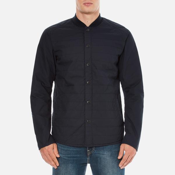 Barbour Heritage Men's Ruthwell Cotton Overshirt - Navy
