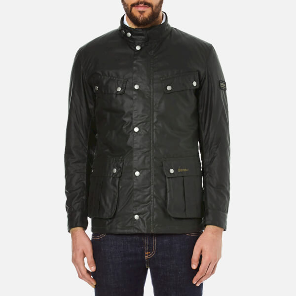 Barbour International Men's Duke Wax Jacket - Sage