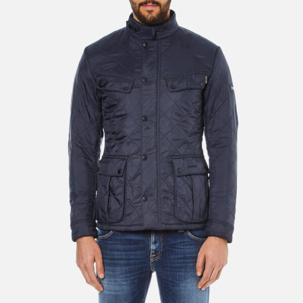 Barbour International Men's Ariel Polarquilt Jacket - Navy