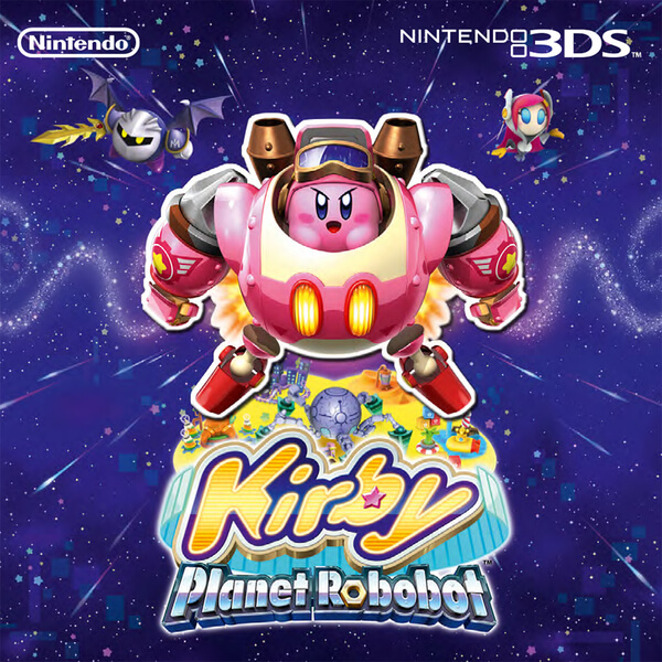 Kirby: Planet Robobot + Kirby Amiibo (Kirby Collection