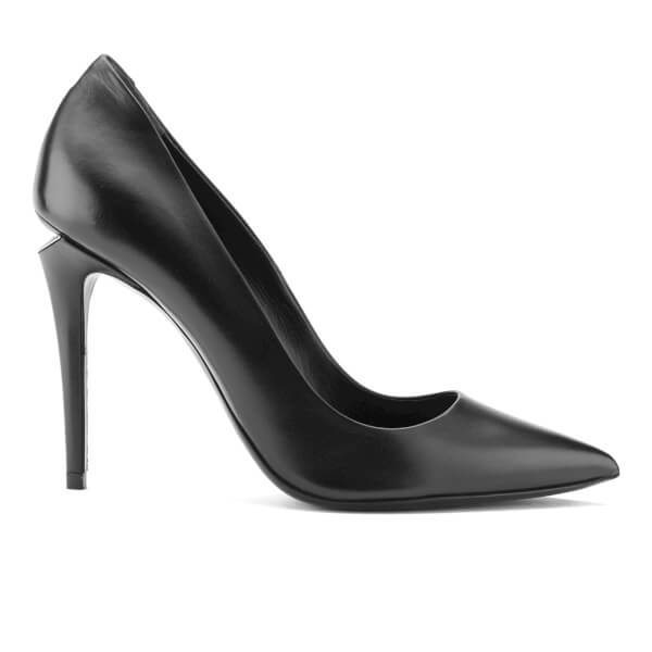 Alexander Wang Women's Tia High Pointed Court Shoes - Black