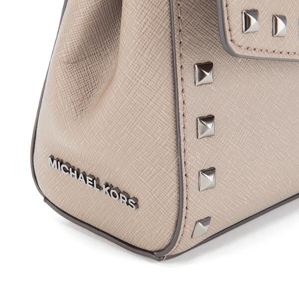 177efbb157ba MICHAEL MICHAEL KORS Ava Stud Mini Crossbody Bag - Grey  Image 7