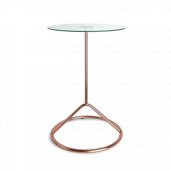 Umbra Loop Side Table - Copper