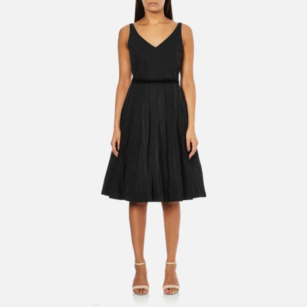 Marc Jacobs Women's Sleeveless V-Neck Dress - Black