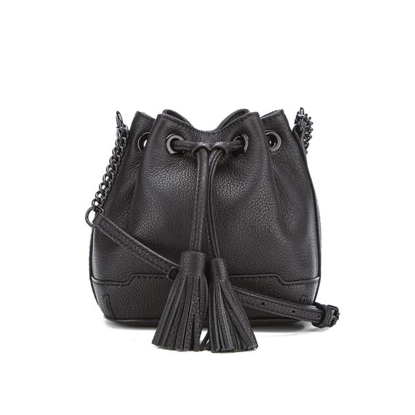 Rebecca Minkoff Women's Micro Lexi Bucket Bag - Black