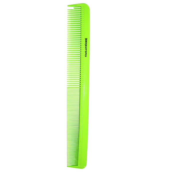 Denman Precision Large Cutting Comb - Lime Green