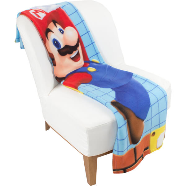 Mario Fleece Blanket