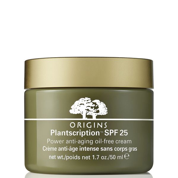 Crema anti-envejecimiento sin aceites con protector FPS25 Plantscription™ de Origins (50 ml)