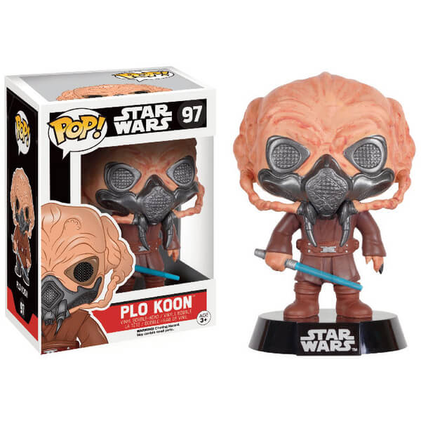 Star Wars (Exc) Plo Koon Pop! Vinyl Figure
