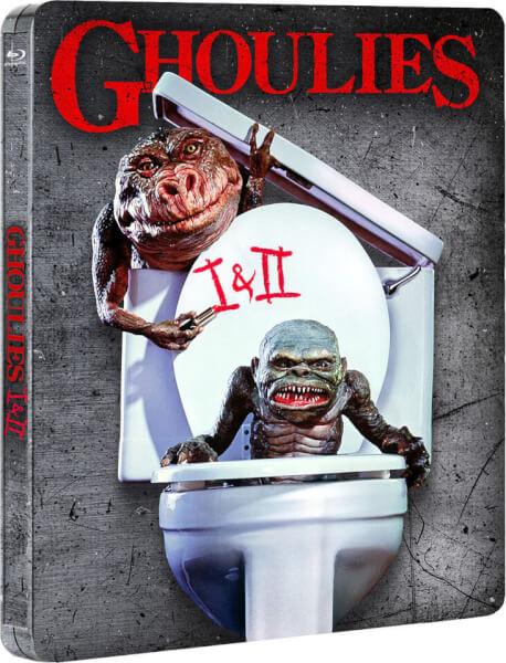 Ghoulies 1 & 2 - Steelbook d'édition limitée exclusive Zavvi