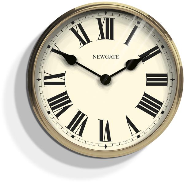 Newgate Parliament Wall Clock - Solid Wood