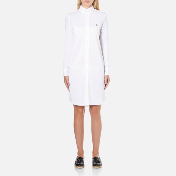 Polo Ralph Lauren Women's Shirt Dress - White