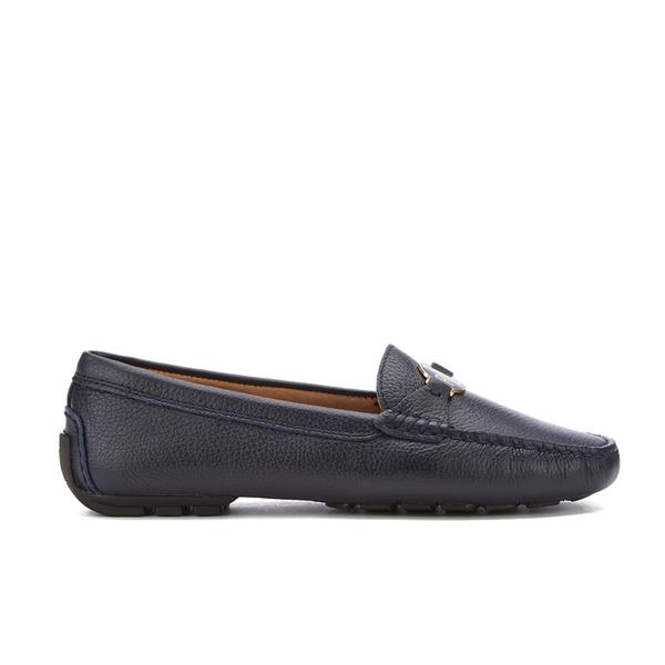 Lauren Ralph Lauren Women's Carley Leather Loafers - Modern Navy