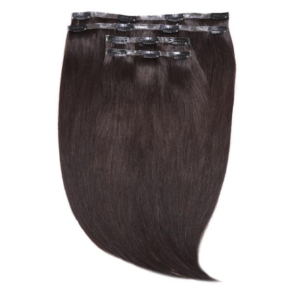 Extensions capillaires Invisi-Clip-In 45 cm Jen Atkin de Beauty Works - Ebony Black 1B