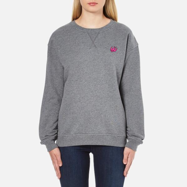 McQ Alexander McQueen Women's Classic Sweatshirt - Stone Grey Melange