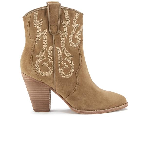 Ash Women's Joe Suede Heeled Boots - Wilde