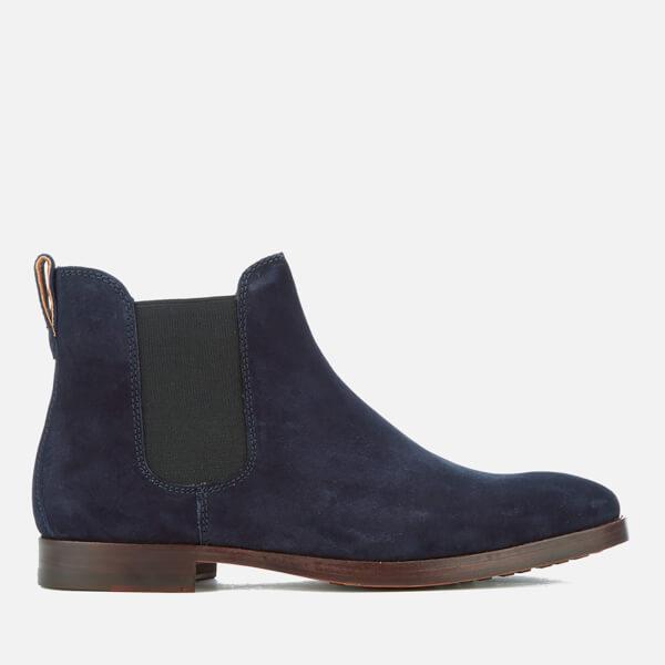 Polo Ralph Lauren Men's Dillian Suede Chelsea Boots - Navy