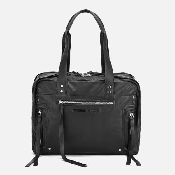 McQ Alexander McQueen Women s Loveless Duffle Bag - Black  Image 1 41f8ac950