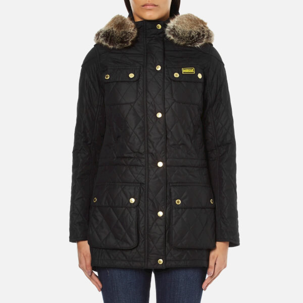 Barbour International Women's Enduro Quilt Jacket - Black