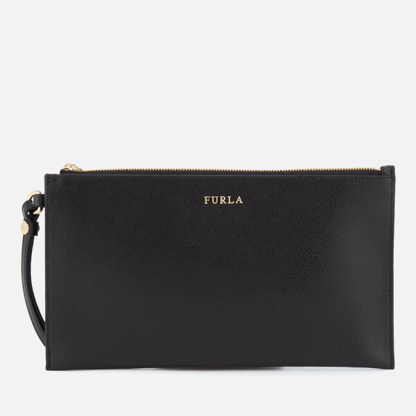 Furla Women's Babylon XL Envelope Clutch Bag - Black