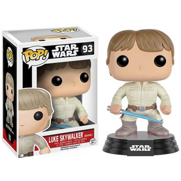 Star Wars Bespin Luke with Lightsaber Pop! Vinyl Bobble Head Figure