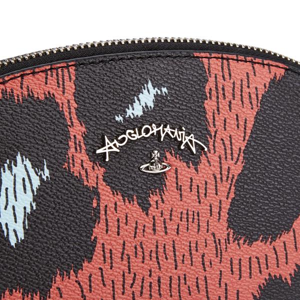 42fb29e9cd Vivienne Westwood Leopardmania Women's Make Up Bag - Orange: Image 3