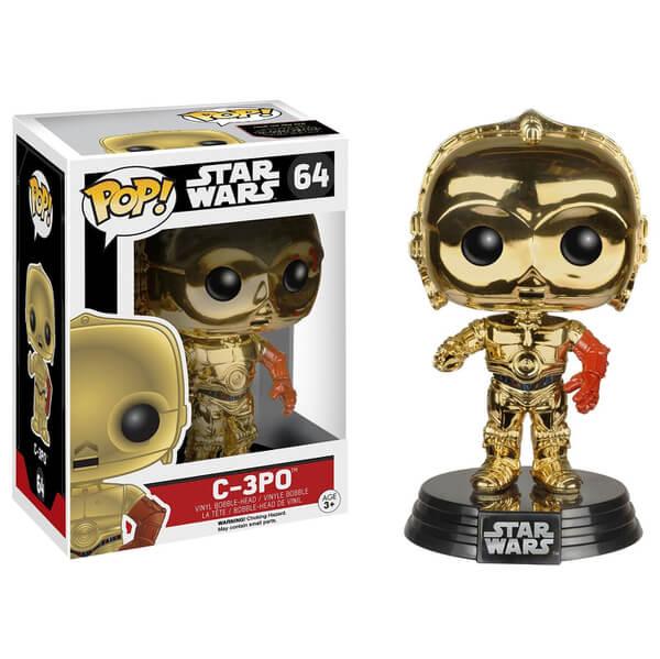 Star Wars: The Force Awakens C-3PO Gold Chrome Pop! Vinyl Figure