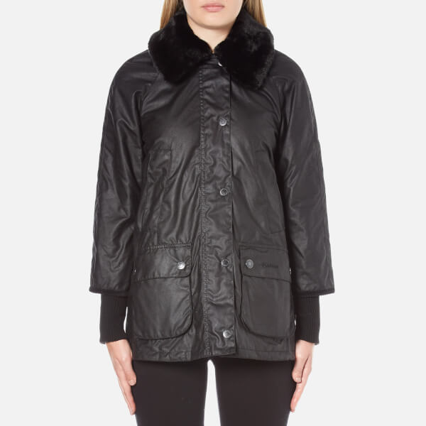 Barbour Women's Snow Bedale Jacket - Black