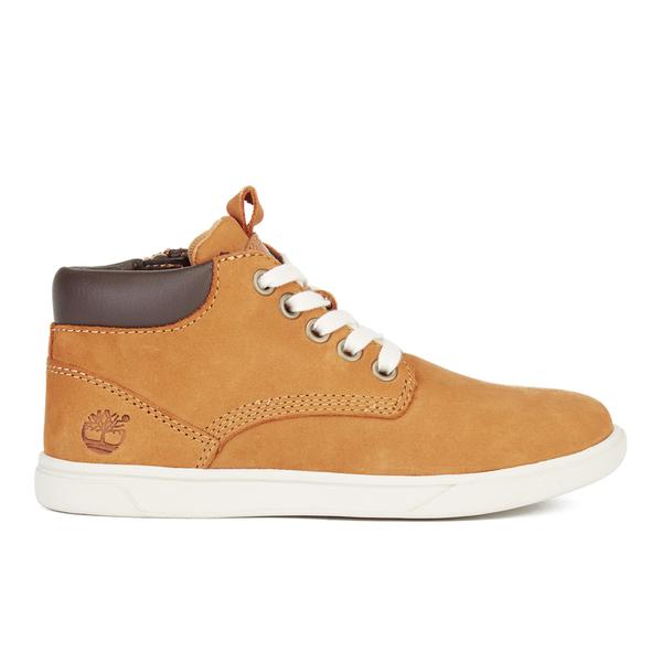 Timberland Kids' Groveton Leather Chukka Boots - Wheat