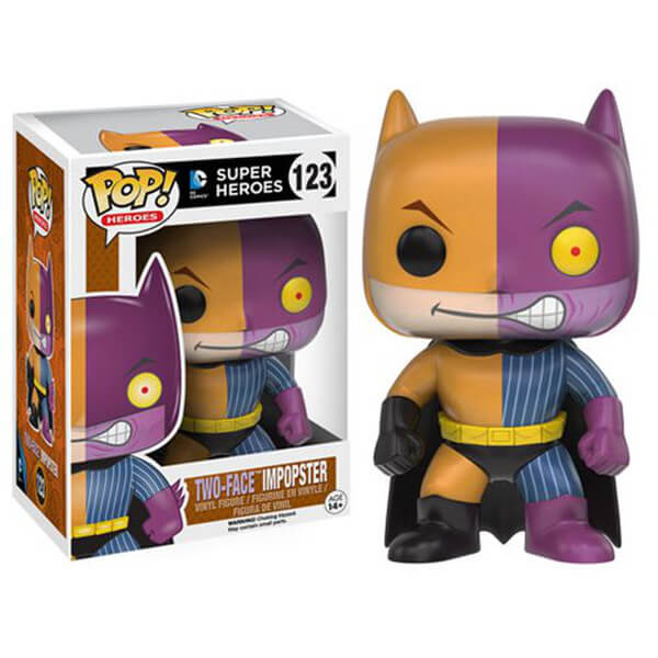 Figurine Double-Face Batman Impopster Funko Pop!