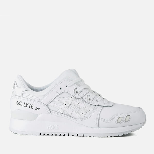 Asics Lifestyle Gel-Lyte III Leather Trainers - White