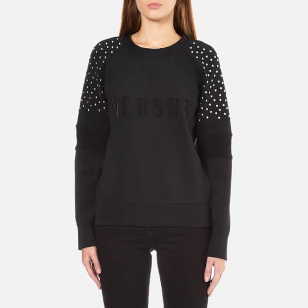 Versus Versace Women's Logo Sweatshirt - Black