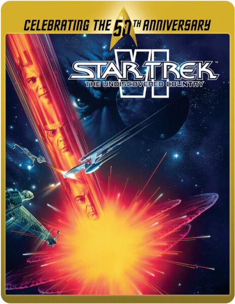 Star Trek 6 - The Undiscovered Country (50th Anniversary Steelbook) (UK EDITION)