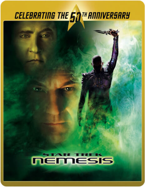 Star Trek 10 - Nemesis (Limited Edition 50th Anniversary Steelbook) (UK EDITION)