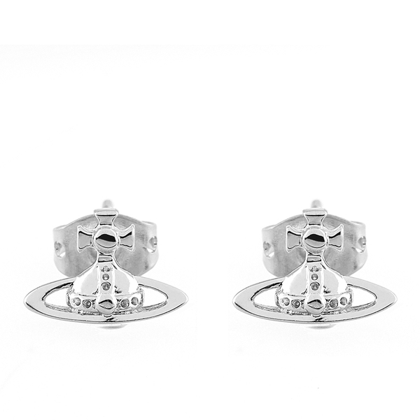 Vivienne Westwood Jewellery Women's Lorelei Stud Earrings - Rhodium