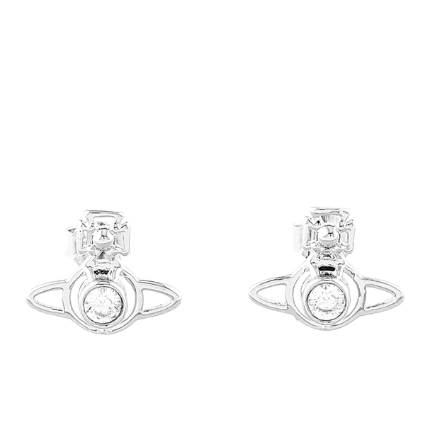 Vivienne Westwood Women's Nora Earrings - White Cubic Zirconia