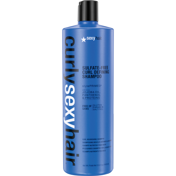 Sexy Hair Curly Curl Defining Shampoo 1000 ml