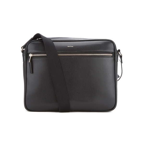 Paul Smith Accessories Men's City Embossed Cross Body Bag - Black