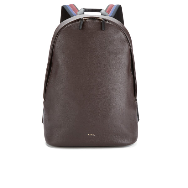 Paul Smith Accessories Men's City Web Backpack - Chocolate
