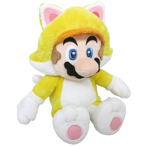 Mario Cat Soft Toy
