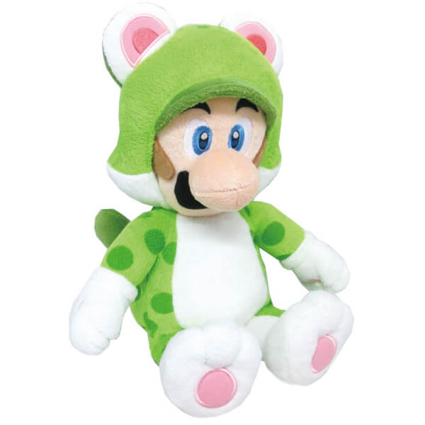 Luigi Cat Soft Toy
