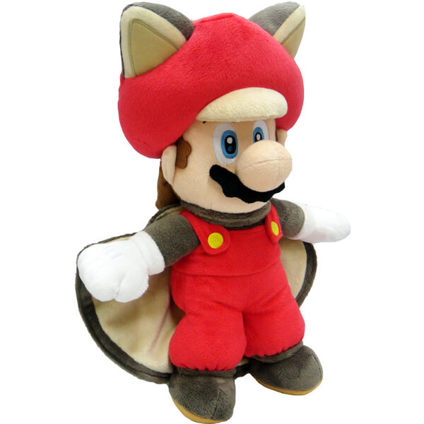 Mario Squirrel Soft Toy