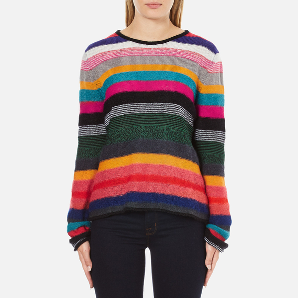 PS by Paul Smith Women's Multi Stripe Jumper - Multi