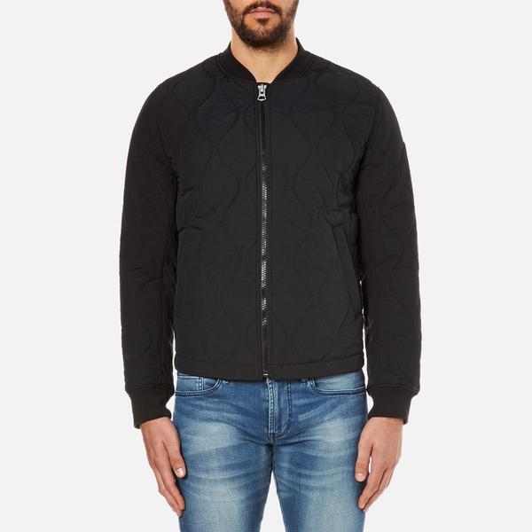 BOSS Orange Men's Okenzie Zipped Jacket - Black