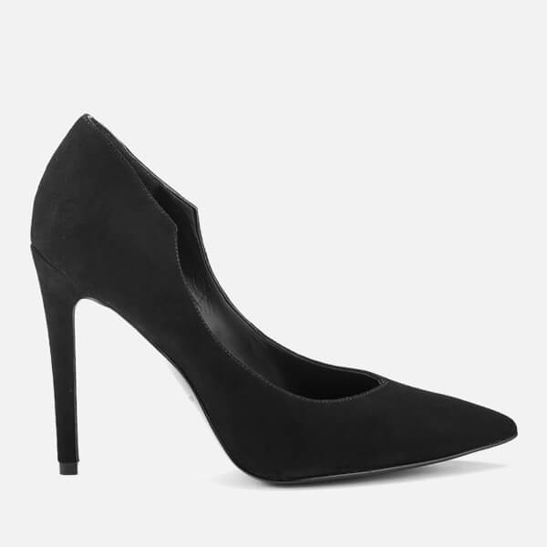 Kendall + Kylie Women's Abi Suede Court Shoes - Black