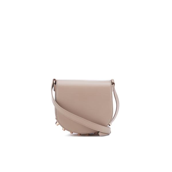 Alexander Wang Women's Mini Lia Cross Body Bag with Rose Gold Studs - Latte