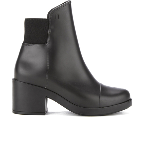 Melissa Women's Elastic Heeled Ankle Boots - Black