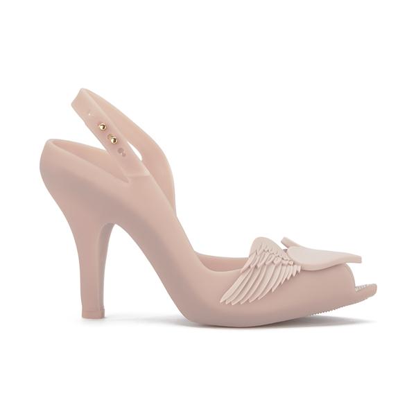 Vivienne Westwood for Melissa Women's Lady Dragon 16 Peep Toe Heeled Sandals - Nude Cherub